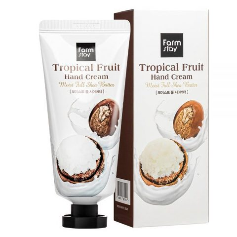 FarmStay Tropical Fruit Hand Cream Moist Full Shea Butter крем для рук с маслом ши