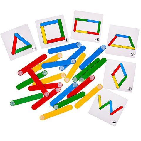 Логическая игра конструктор Палочки-смекалочки, Smile Decor П1016