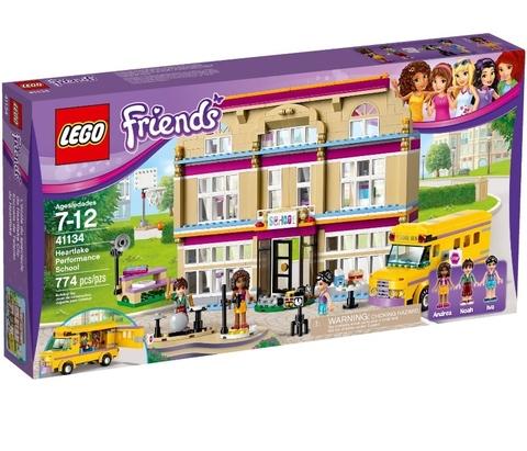 LEGO Friends: Театральная школа Хартлайк 41134 — Heartlake Performance School — Лего Френдз Друзья