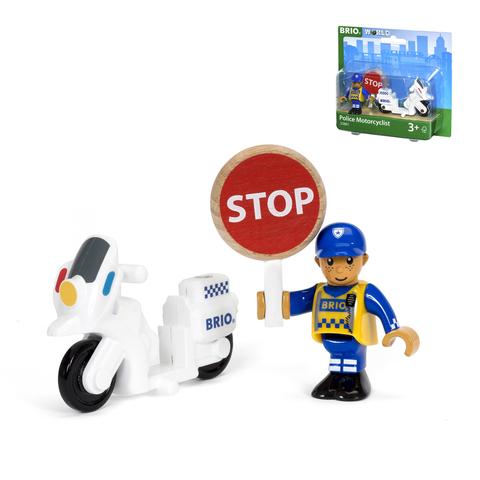 BRIO 33861 Полицейский мотоцикл