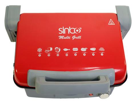 Электрогриль Sinbo, 2000 Вт, 220 V, красный