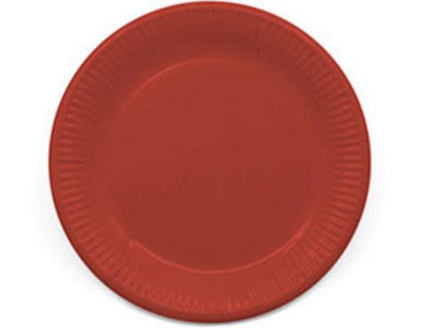 1502-4375 Тарелка ЭКО Red 23см 8шт/P