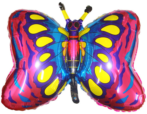 Фольгированный шар Бабочка Фуше