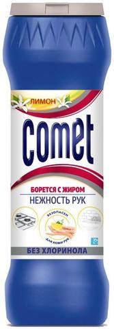 Средство чистящее универсал.Comet 475г Лимон без хлоринола,порошок/банка