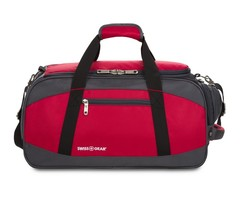 Сумка спортивная Swissgear, красная, 52х25х30 см, 39 л