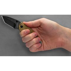 Складной маленький нож KERSHAW Shuffle II TAN 8750TTANBW