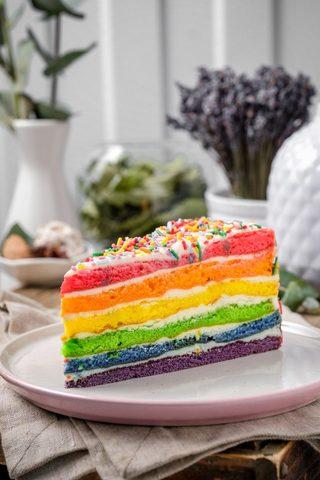 Замороженный торт Радуга купить