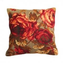 Подушка для вышивания Collection D'Art Розы