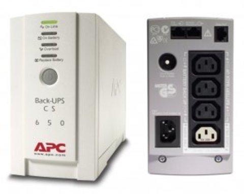 Источник бесперебойного питания BK650EI APC Back-UPS 650 ВА