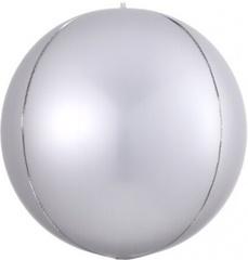 К Сфера 3D, Silver (Серебро), 11''/28 см, 1 шт.