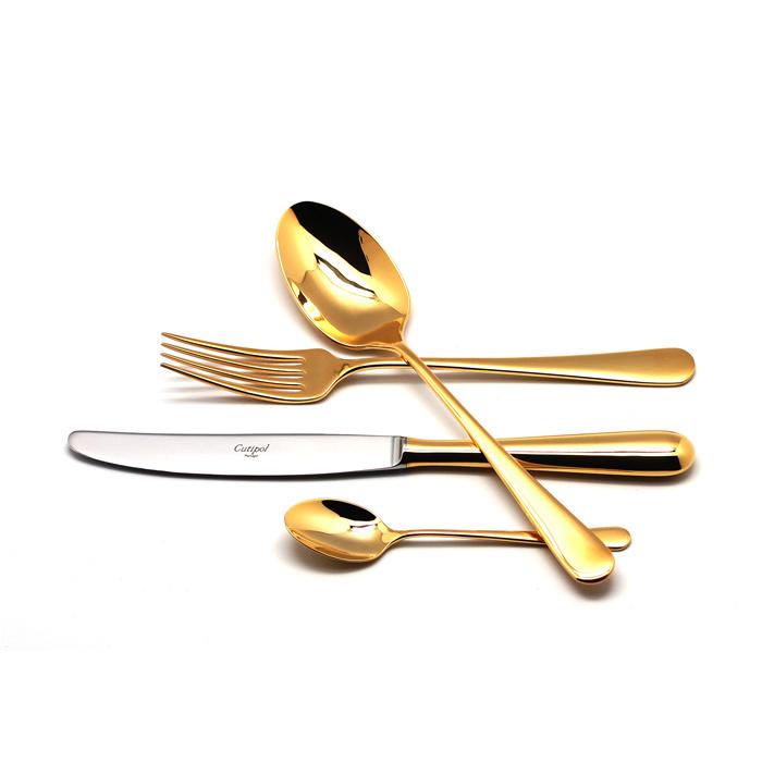 Набор полированный 24 пр ALCANTARA GOLD, артикул AL.006.G, производитель - Cutipol