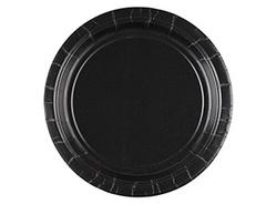 Тарелка Черный / Jet Black / 17см, 8шт.