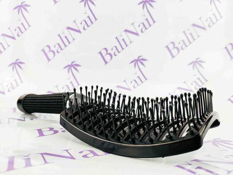 Расчёска продувная широкая, чёрная