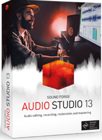 SOUND FORGE Audio Studio 13 ESD