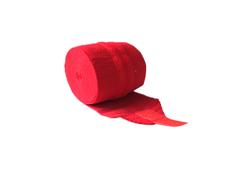 Бинт эластичный спортивный (CROSSFIT) с застёжкой велкро. Цвет: красный. Длина 2 м, ширина 8 см: С-310