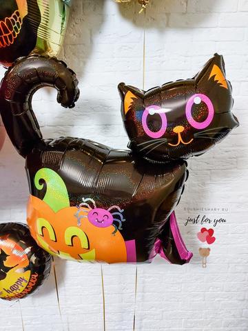 Фольгированный шар кошка