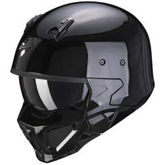 Мотошлем Scorpion EXO Covert-X Solid, чёрный