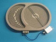 Конфорка овальная 2400/1500W D265/170 плиты GORENJE 607620