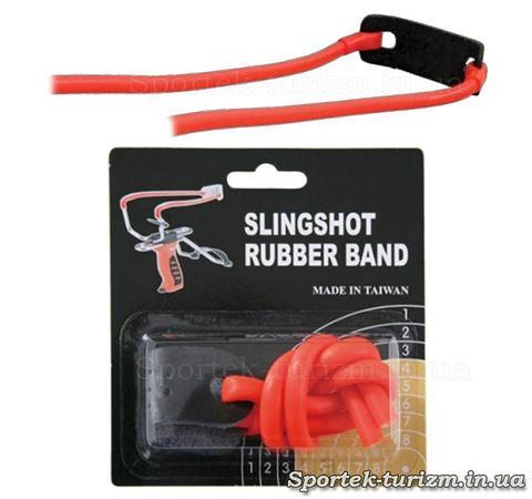 Гумка оранжевого кольору для рогаток Man Kung MK-TR-O
