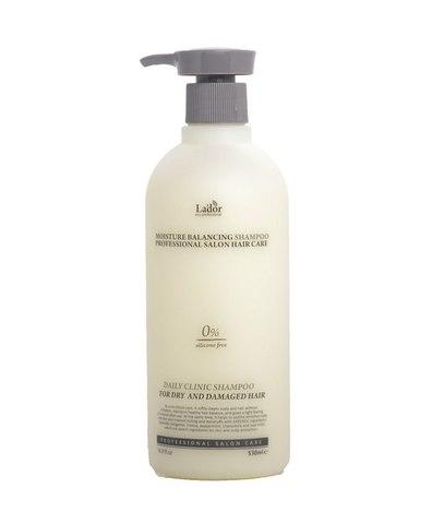 Увлажняющий бессиликоновый бальзам для волос LADOR MOISTURE BALANCING CONDITIONER (530 ml)