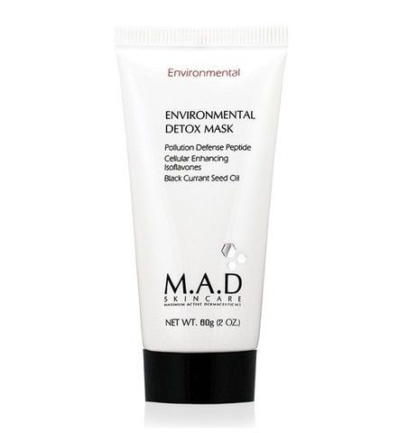 Маска детоксицирующая очищающая M.A.D Skincare Environmental Environmental Detox Mask, 60 гр