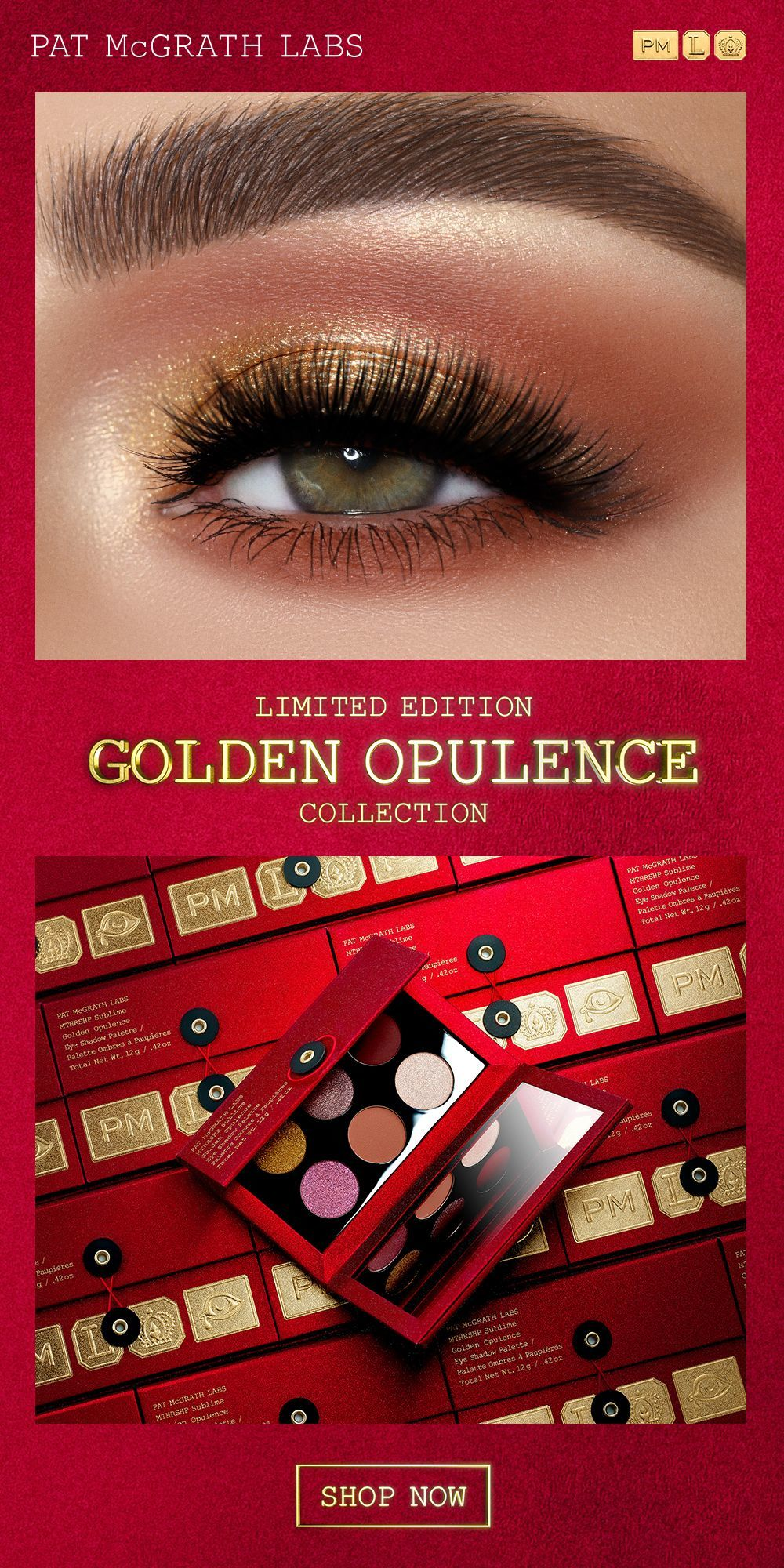 Pat McGrath Labs MTHRSHP Sublime: Golden Opulence
