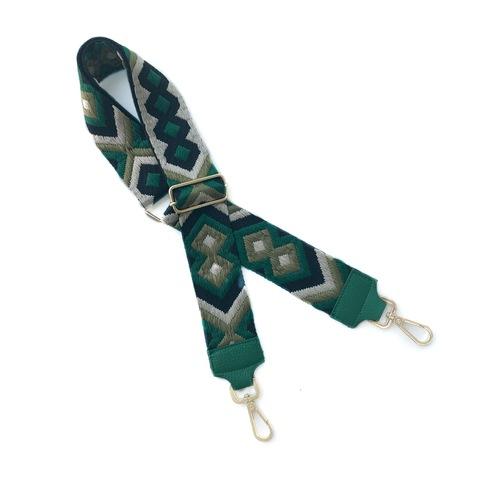 Bag Strap Textile (Ремень к сумке Текстильный) Принт мелкий геометрический