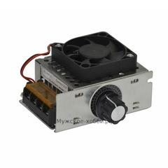 Регулятор напряжения 4 кВт с куллером
