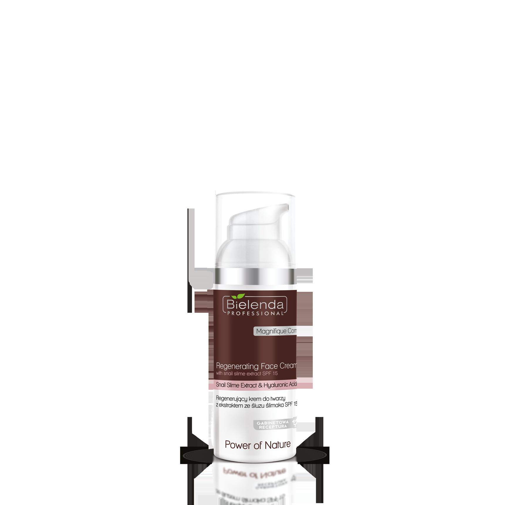 Power of Nature  регенерирующий крем для лица с экстрактом муцина улитки  SPF 15, 100 мл.