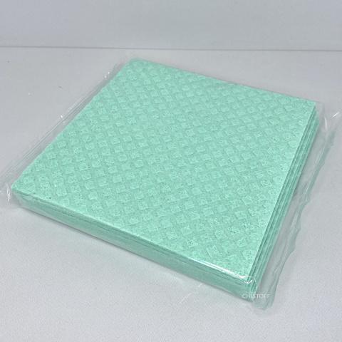 Серветки целюлозні без етикетки поліпшені (5 шт.) Різнокольорові