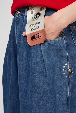 Женские синие джинсы D-CONCIAS Diesel