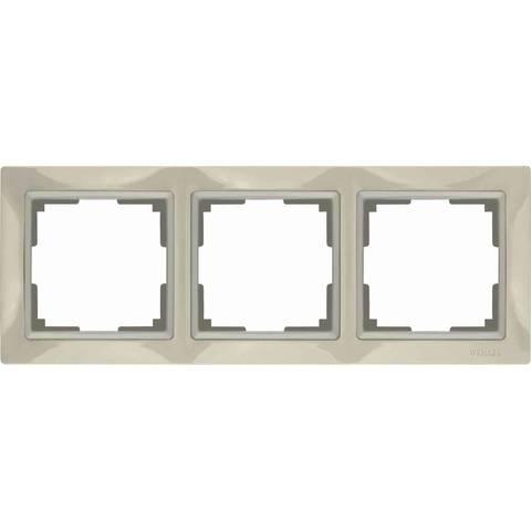 Werkel Рамка W0032003 (WL03-Frame-03) слоновая кость basic