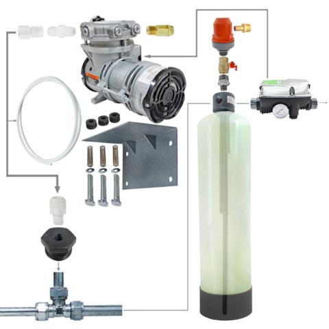 Комплект установка напорной аэрации воды 0844 / AP2 / Brio