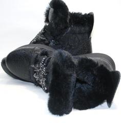 Черные кроссовки женские на зиму
