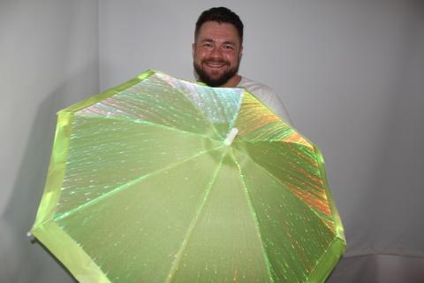 сетящийся зонт