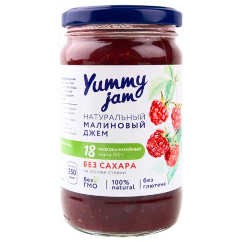 Джем малиновый без сахара Yummy, 350г