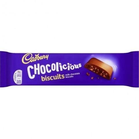 Печенье Cadbury Сhocolicious biscuits 110 гр