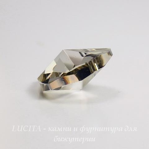6228 Подвеска Сваровски Сердечко Crystal Silver Shade (18х17,5 мм)