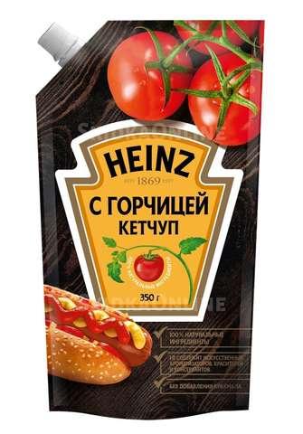Кетчуп HEINZ С горчицей 350 г ДП РОССИЯ
