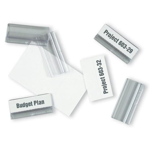Табуляторы для демопанелей Durable (пластиковые, 58х26 мм, 10 штук)