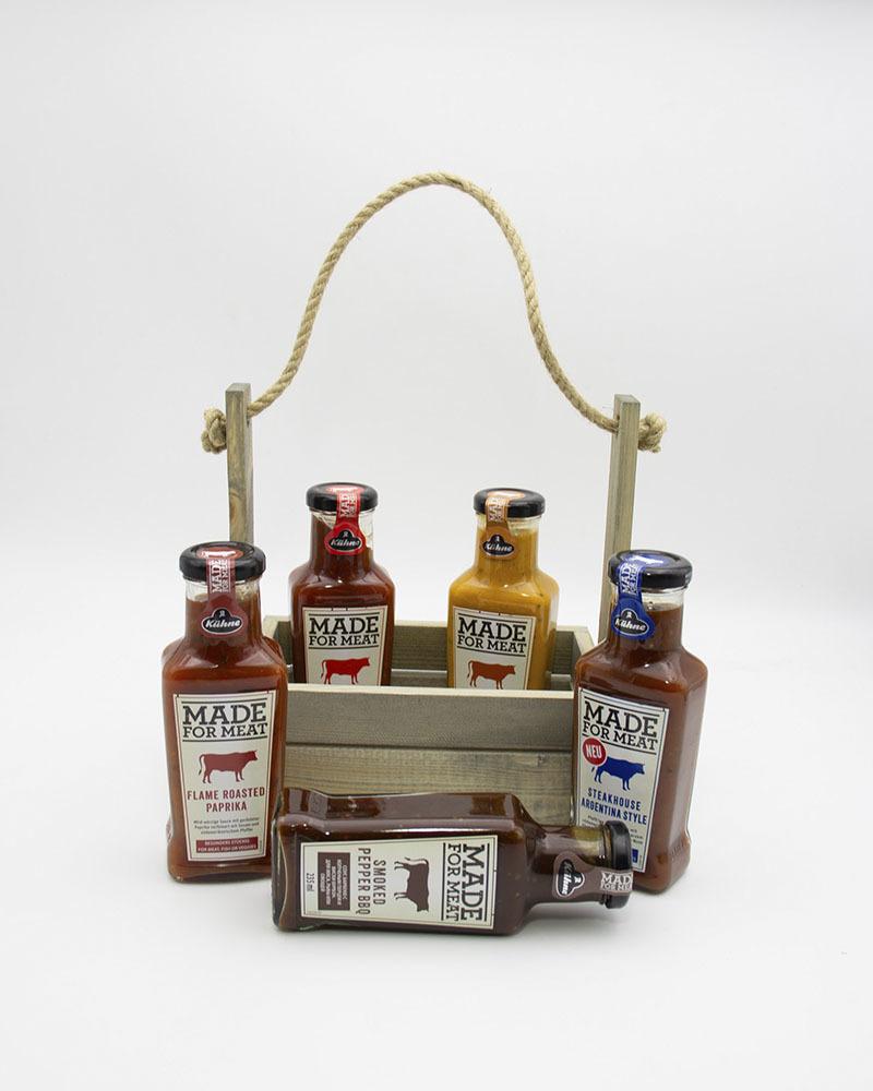 Подарочный набор с соусами Kuhne