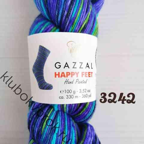 GAZZAL HAPPY FEET 3242, Фиолетовый зеленый
