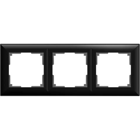 Werkel Рамка W0032208 (WL14-Frame-03) черный матовый