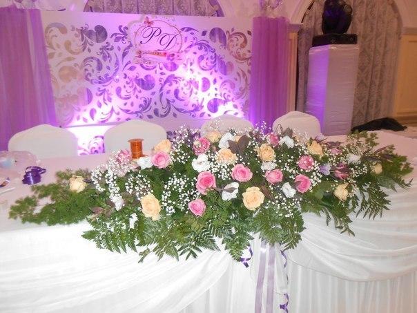 оформление живыми цветами Алматы