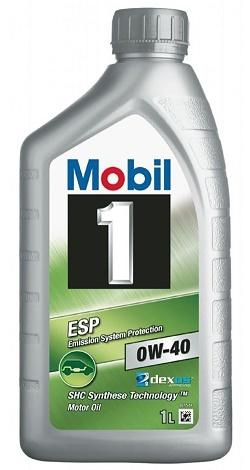 152623 152057 MOBIL 1 ESP 0W-40 моторное синтетическое масло 1 Литр купить на сайте официального дилера Ht-oil.ru