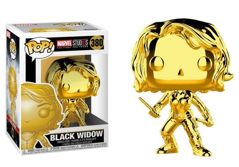 Фигурка Funko POP! Bobble: Marvel: MS 10: Black Widow (Chrome) 33516
