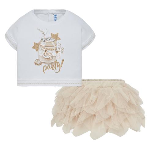 Комплект Mayoral блузка и юбка Party