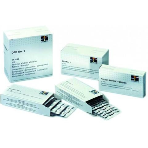 Таблетки для фотометров DPD1, свободный Cl, 10 шт. Lovibond