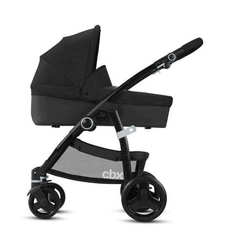 Детская коляска 2 в 1 CBX by Cybex Leotie Pure Smoky Anthracite