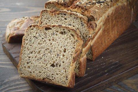 Ржаной хлеб Зерновой мультизлак Пекарня Дон Батон 0,35кг